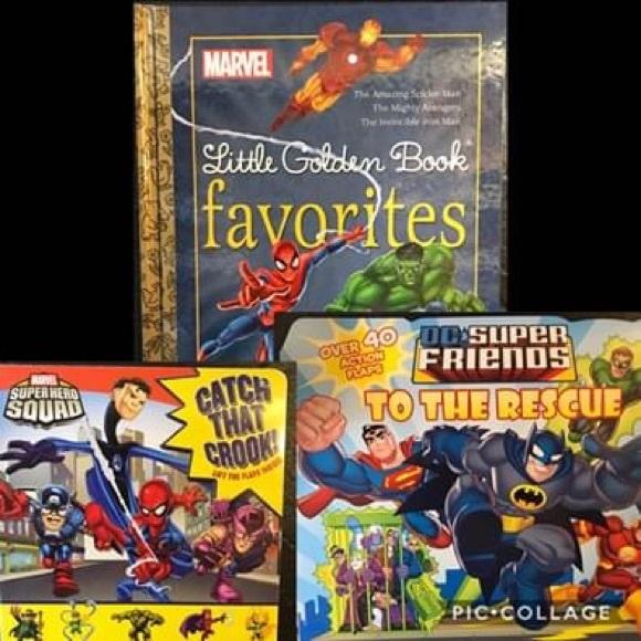 Superhero Books 💥